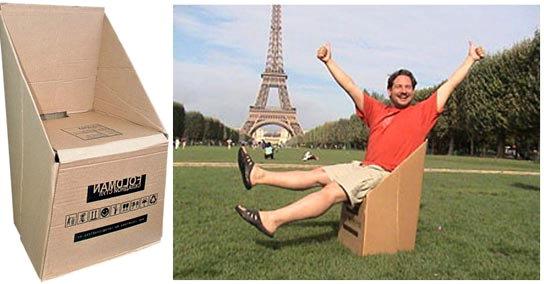 Мебель из картона как идея бизнеса от Михаила Редина