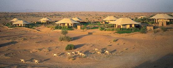 Отель как лагерь бедуинов